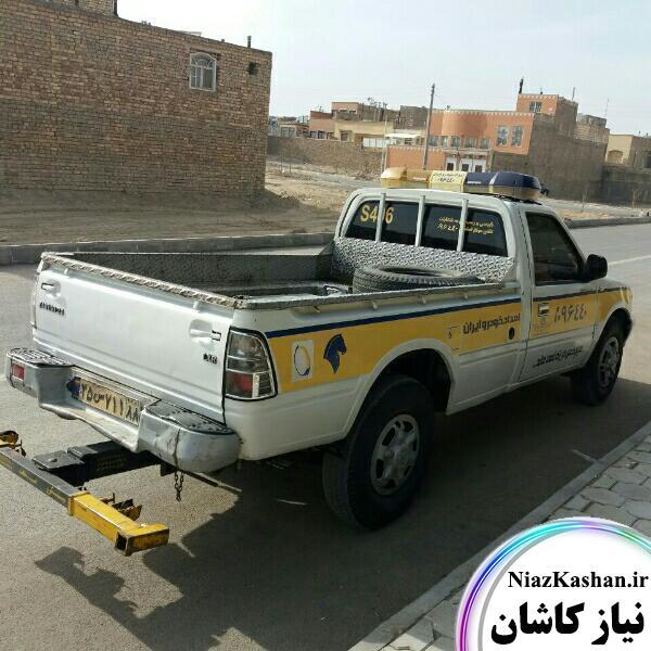 یدک کش امداد خودرو ایران کاشان